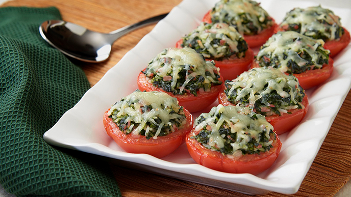 Savory Stuffed Tomatoes