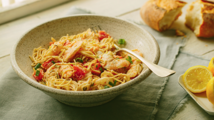 Simply Shrimp and Lemony Pasta