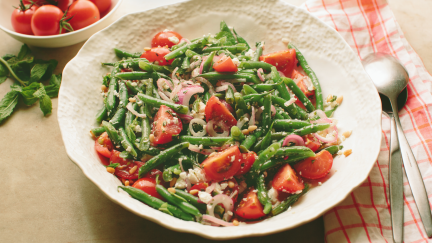 Picnic Tomato and Green Bean Salad