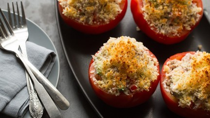 French Stuffed Tomatoes