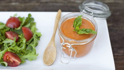 Fresh Summer Tomato Dressing