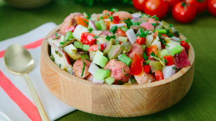 Sorrento Chunky Rustic Tomato Potato Salad